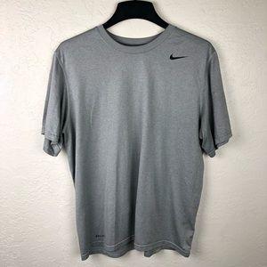 Men's Nike Grey Dri-Fit Workout Shirt